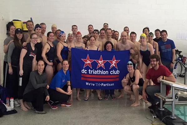 Club swim meet at CUA