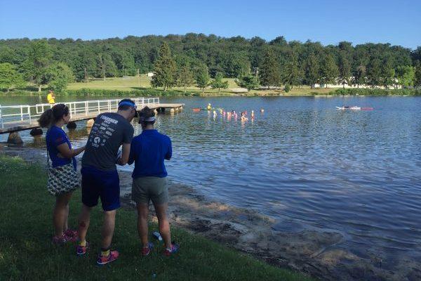 Fort Richie training tri 2016