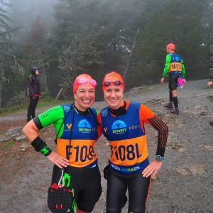 Amanda Melillo on SwimRun